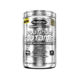 MuscleTech Platinum 100 % Glutamine (302 g).