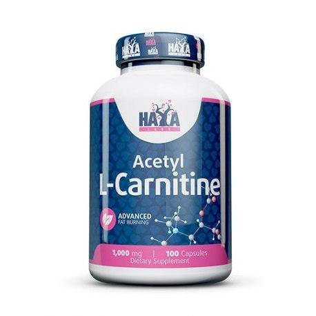Haya Labs Acetyl l-karnitinas(100 kaps.)