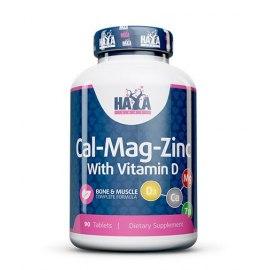 Haya Labs Calcium Magnesium & Zinc su Vitaminu D (90 tab.)