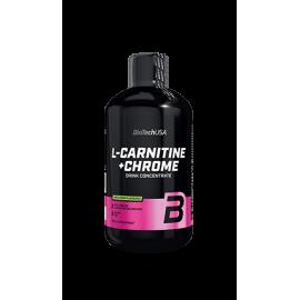 Biotech Liquid L-Carnitine + Chrome karnitinas