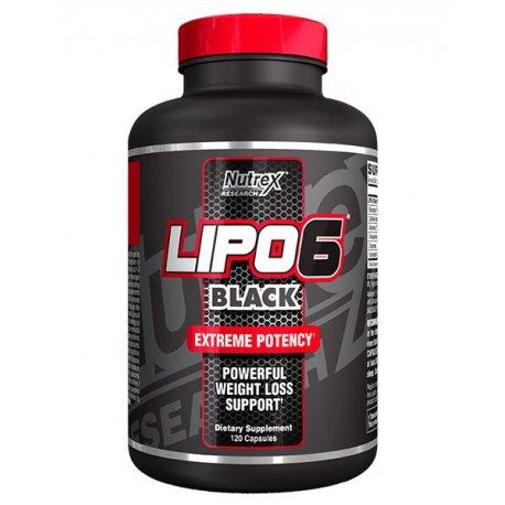 Lipo-6 Black riebalų degintojas