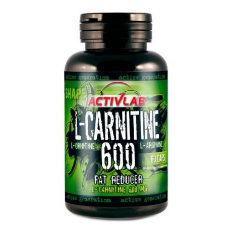 Activlab Carnitine 600 riebalų deginimui
