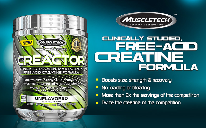 Muscletech kreatinas