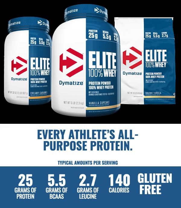 Dymatize elite baltymai