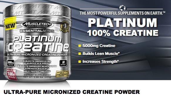 platinum kreatinas