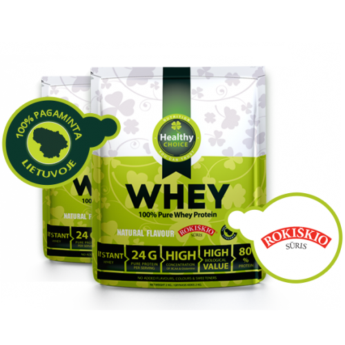 Healthy choise proteinas