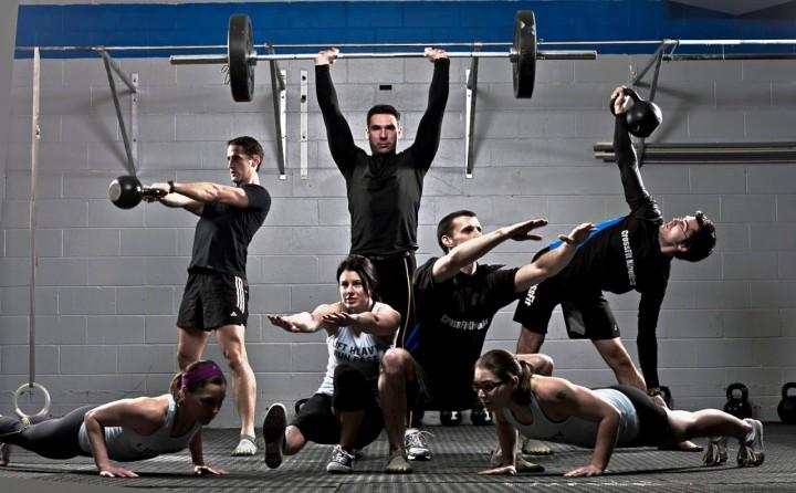 Crossfit sportas