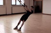 TRX pratimas bicepsams