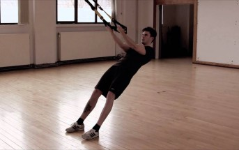 TRX pratimas bicepsams